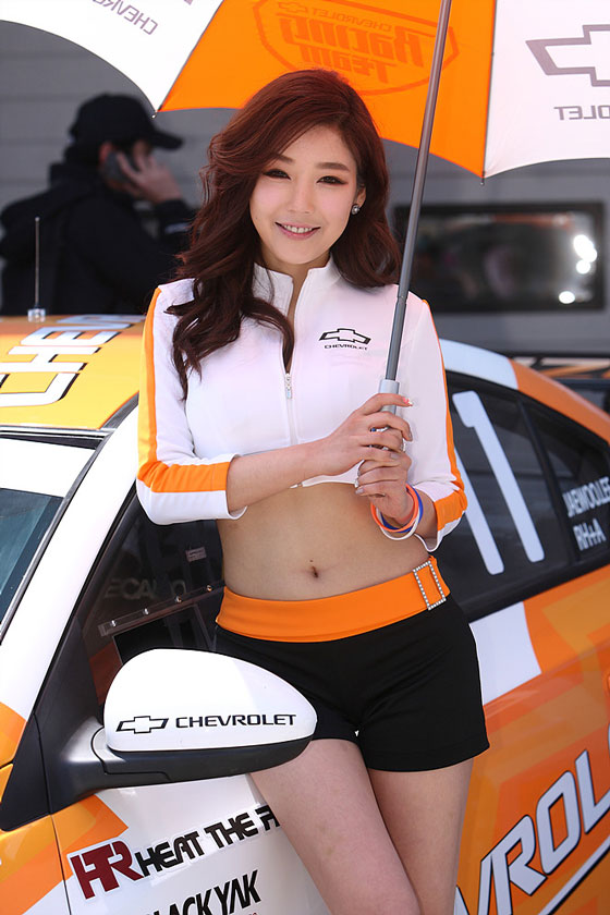 Jo Sang Hee CJ Super Race 2013