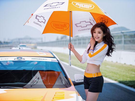 Jo Sang Hee CJ Super Race 2013