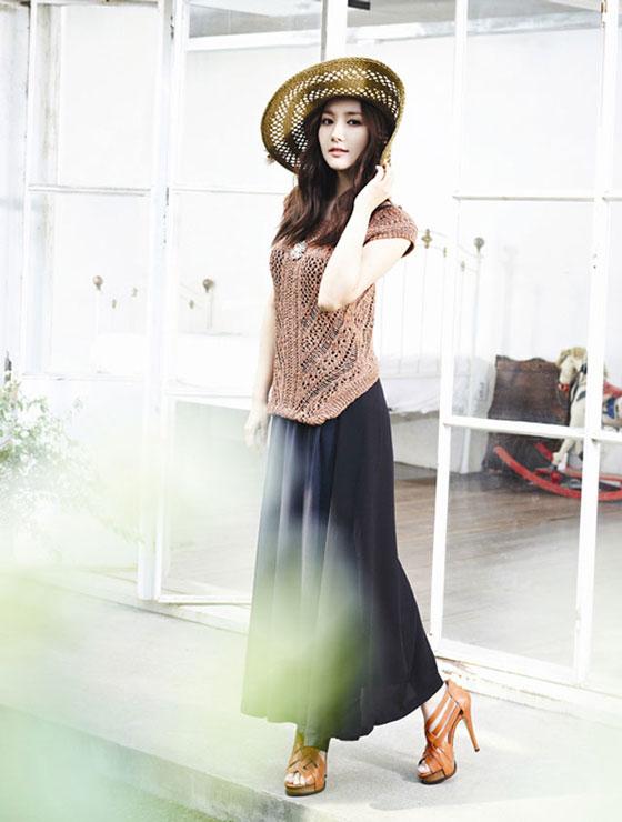 Park Min Young Korean Compagna fashion