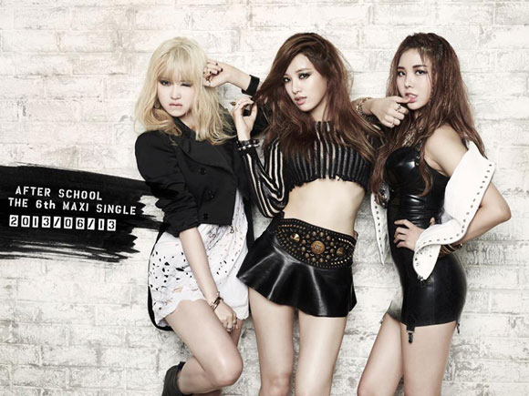 After School Times Up single album