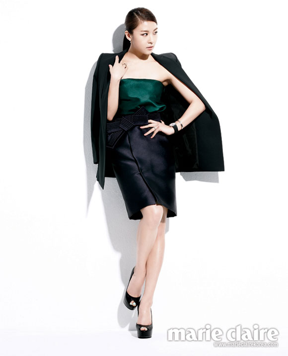 Ha Ji Won Korean Marie Claire Magazine