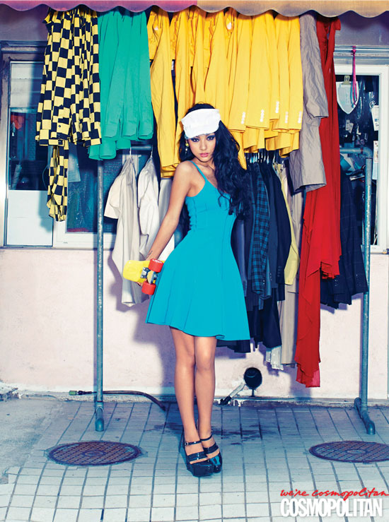 Lee Hyori Cosmopolitan Magazine