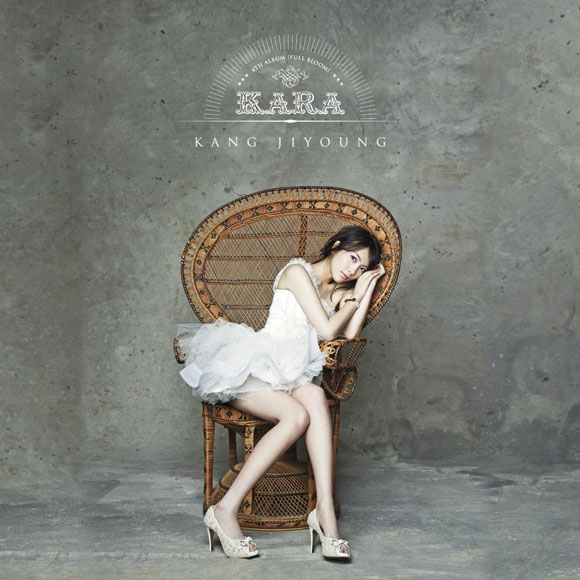 KARA Jiyoung Korean Full Bloom album