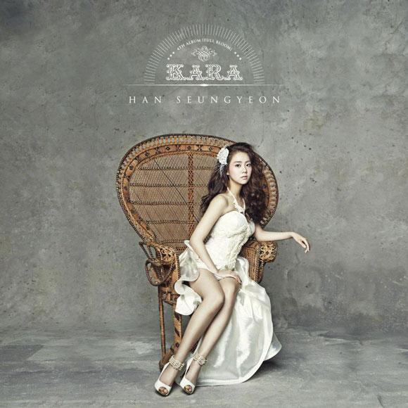 KARA Seungyeon Korean Full Bloom album