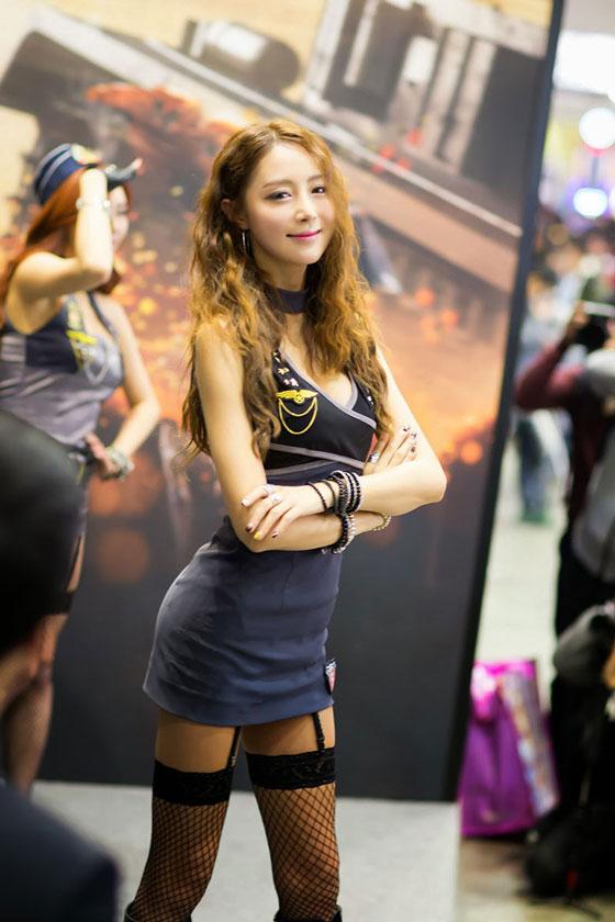 Korean model Eun Bin Gstar 2013