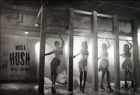 Miss A Hush Korean studio album