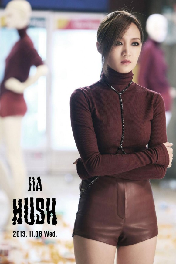 Miss A Jia Hush Korean album