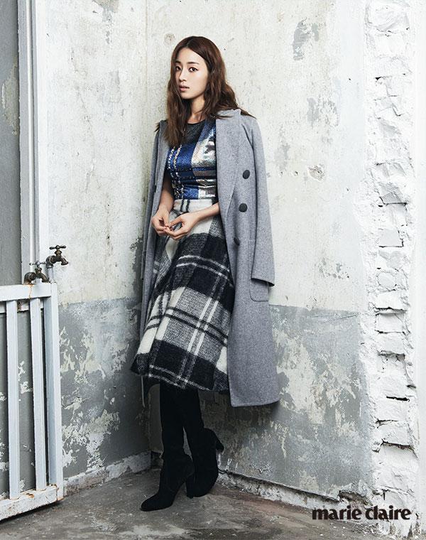 Han Ji Hye Korean Marie Claire Magazine