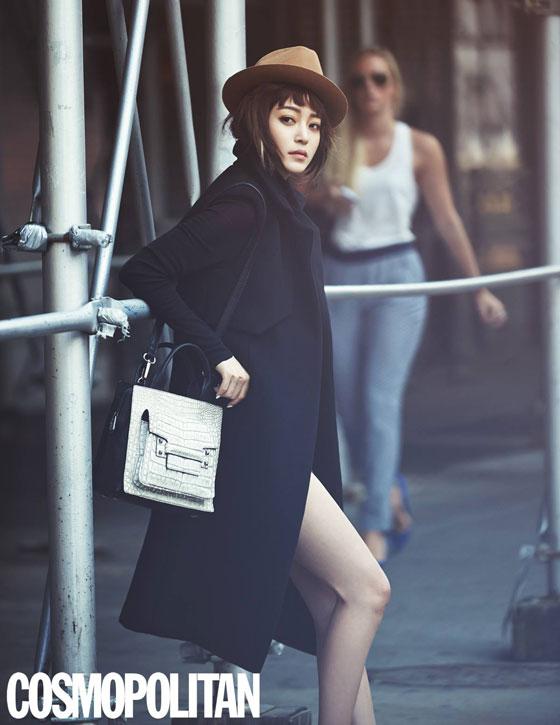 Han Ye Seul Korean Cosmopolitan Magazine