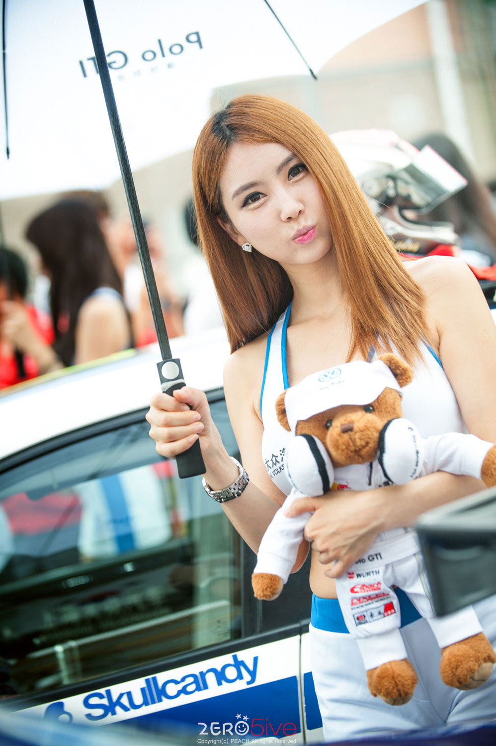 Lee Da Ryeong CJ Super Race Volkswagen 2014
