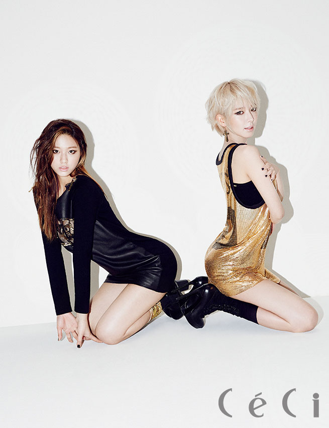 Korean girl group AOA CeCi Magazine