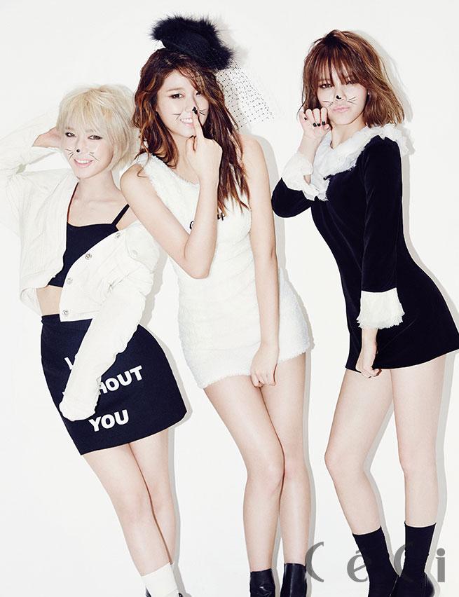 Korean girl group AOA CeCi Magazine