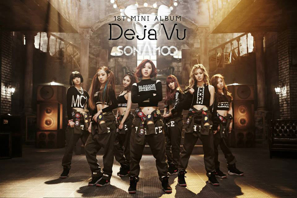 Korean girl group Sonamoo Deja Vu
