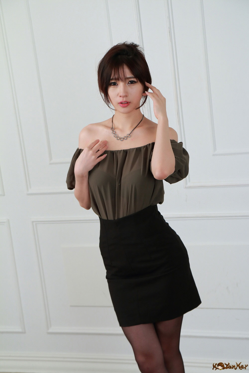 Korean model Song Ju Ah studio