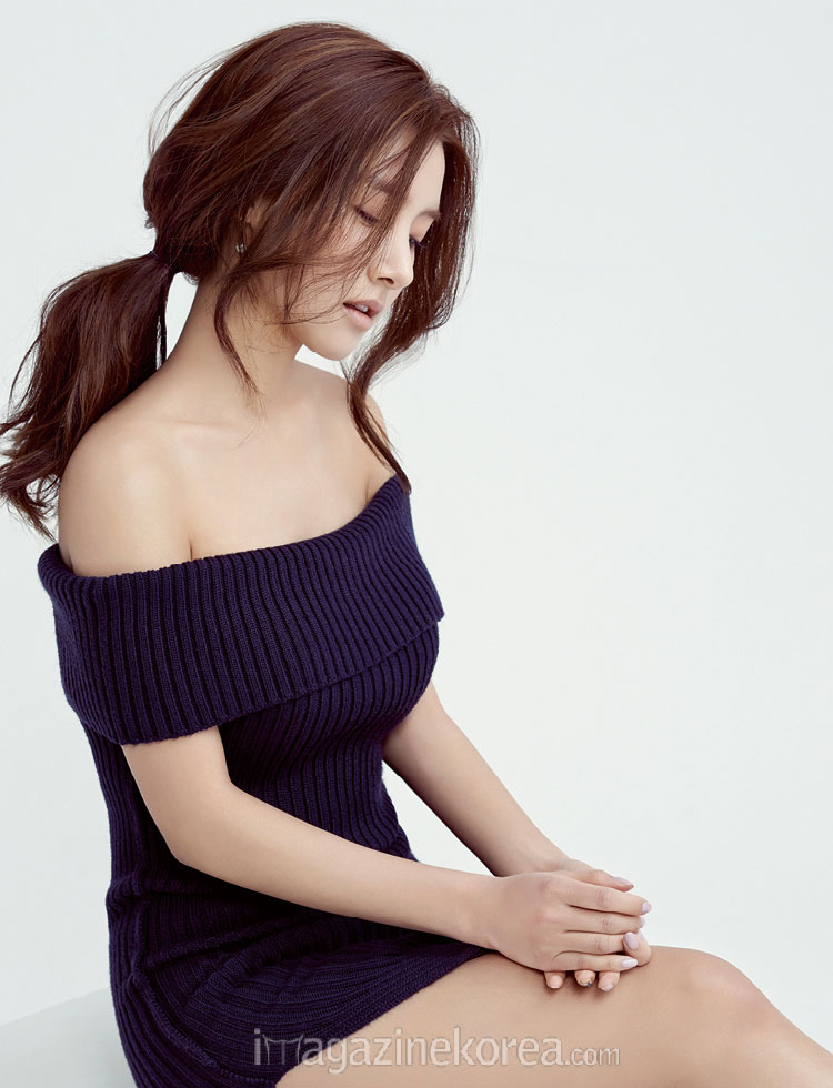 Cute actress Kim So Eun Esquire Magazine