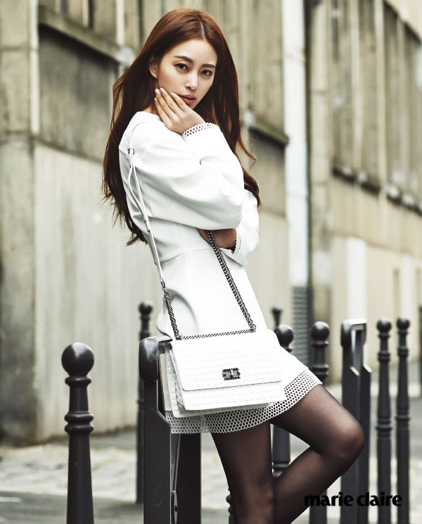 Korean actress Han Ye Seul Paris