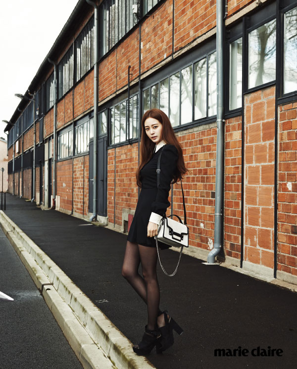 Korean actress Han Ye Seul Paris