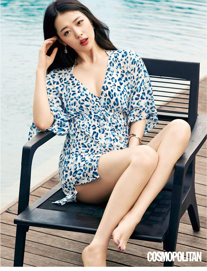 Fx Sulli Korean Cosmopolitan Magazine