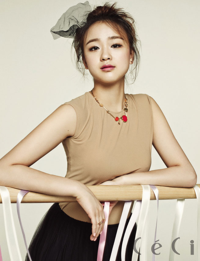 Son Yeon Jae Korean CeCi Magazine