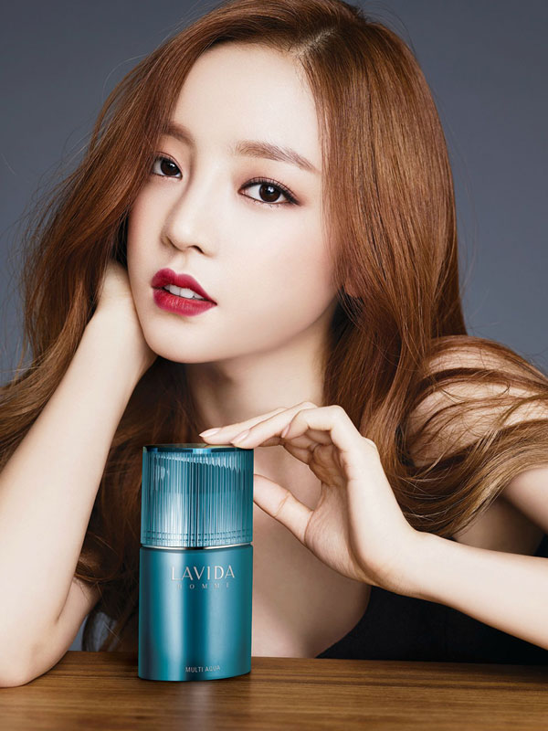 KARA Hara Lavida cosmetics Korea