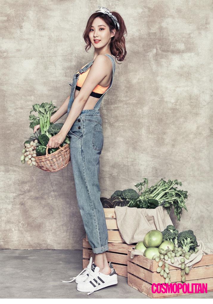 SNSD Seohyun Korean Cosmopolitan Magazine